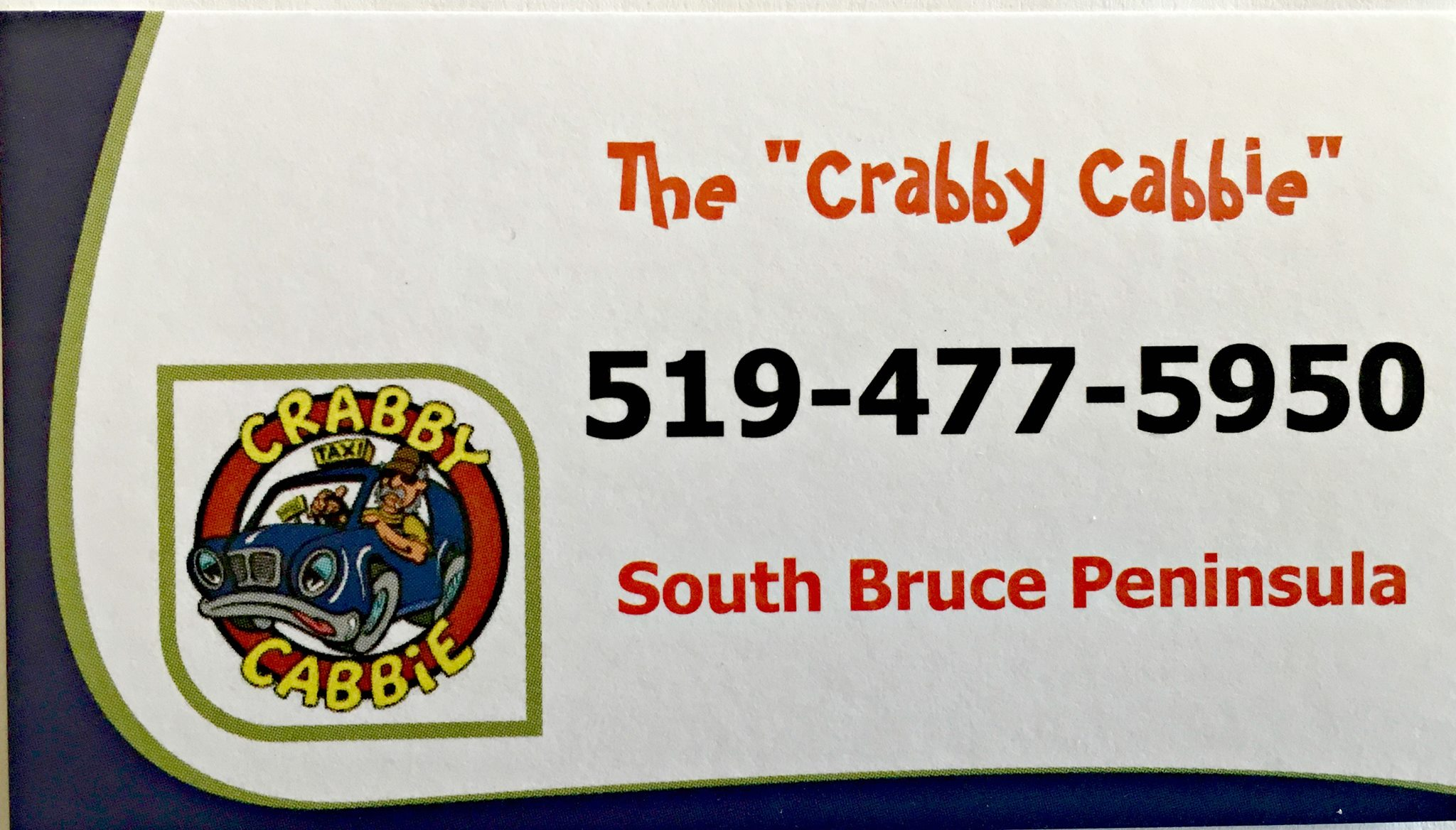 The Crabby Cabbie